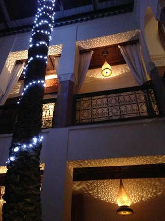 Zamzam Riad:                   Riad at night