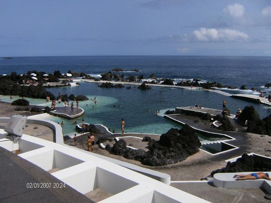 Porto Moniz, Portugal: PISCINAS NATURAIS AO NIVEL DO MAR