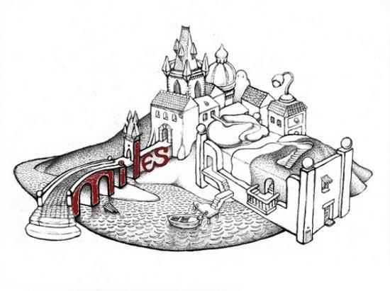 Hostel Miles: logo