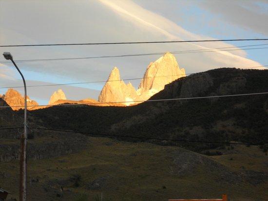 Hotel Cumbres Nevadas:                   Vista desde la puerta de la Cabaña