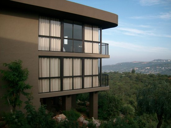 Thaba Eco Hotel:                   Take the top floor if you can!