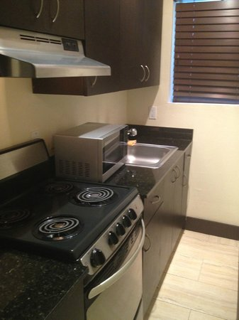 Sunbrite Apartments: Room 115 Kitchen