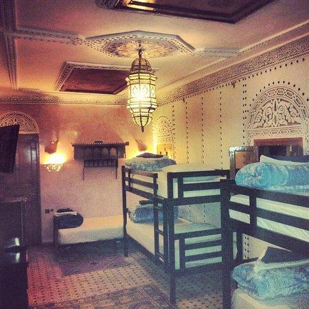 Riad Verus: Marcus 6 person room