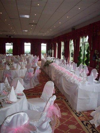 The Inn at Dromoland: Top table