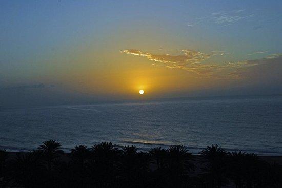 SBH Costa Calma Palace :                   Sonnenaufgang