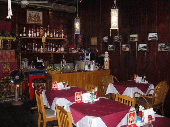 Chalita Cafe & Restaurant : Chao Fa Road, Krabi Town, Thailand