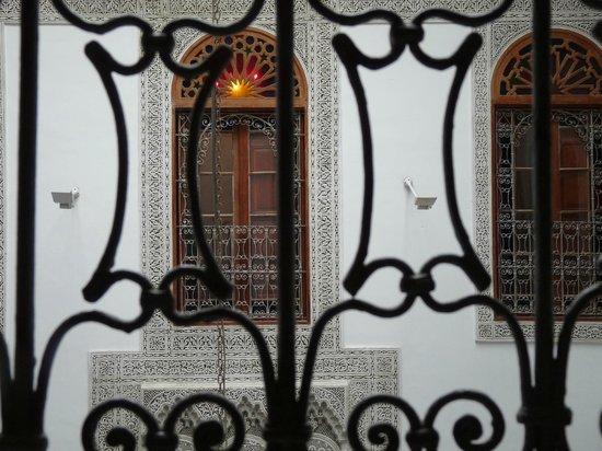Riad Fez Yamanda :                   Dalla finestra della mia camera
