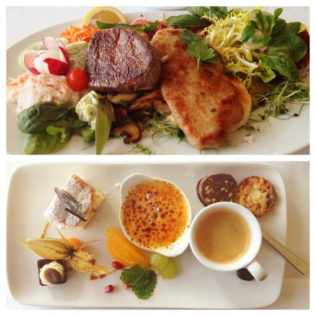 Cafe-Restaurant Luisenhof: Lunch of the day