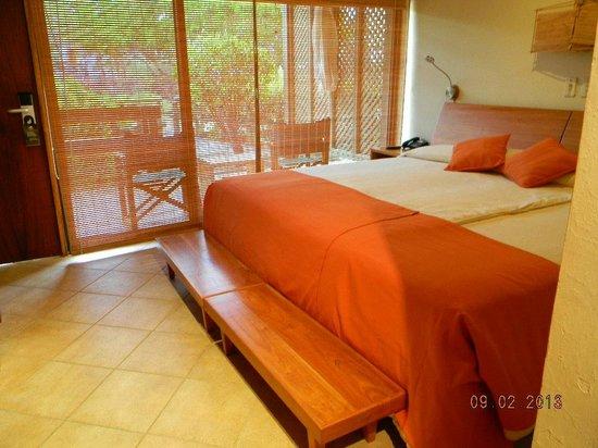Finch Bay Galapagos Hotel :                   Vista desde la habitación