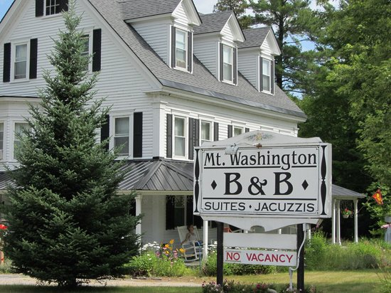 Mt. Washington Bed and Breakfast:                                     Mt. Washington Bed & Breakfast