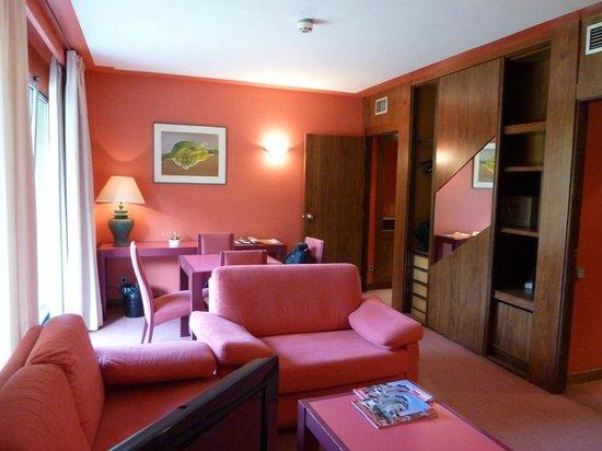 Hotel Palacio del Mar:                   Vista de la habitación