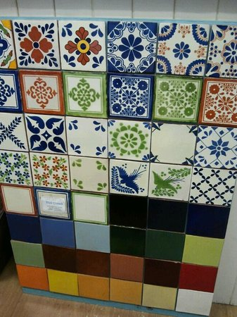 Otomi: Hand-made Mexican tiles