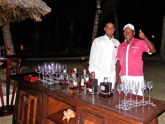 Eden Roc at Cap Cana:                   Tomas [on the right] is amazing!