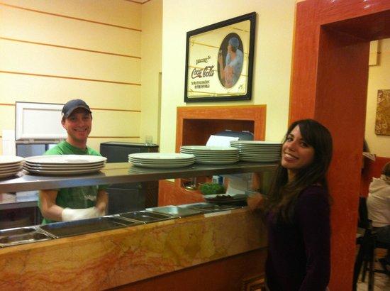 Pizzeria M'aMa :                                     I due boss