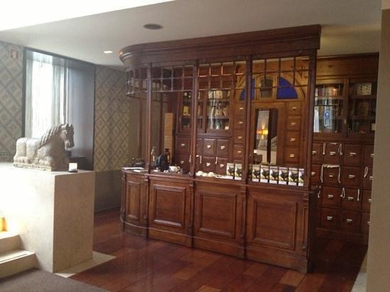Heritage Avenida Liberdade Hotel: bar à thés !