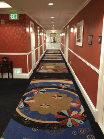 Hotel Shattuck Plaza: Hallways on second floor
