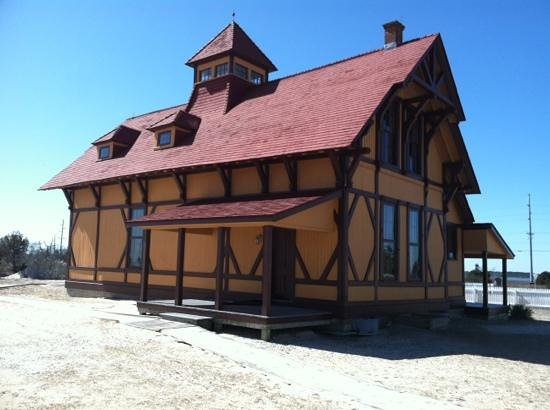 Indian River Life-Saving Station Museum at Delaware Seashore State Park:                   Indian River Life-Saving Station