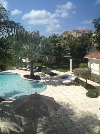 Villa del Mar:                   view from balcony