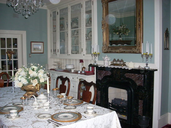 elegant dining room - picture of northview inn bed and breakfast