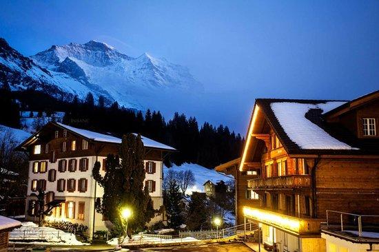 Hotel Edelweiss: Aussicht vom Balkon