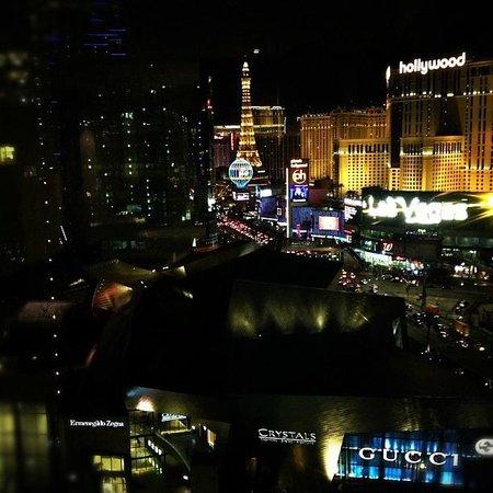Mandarin Oriental, Las Vegas:                                     View from my room