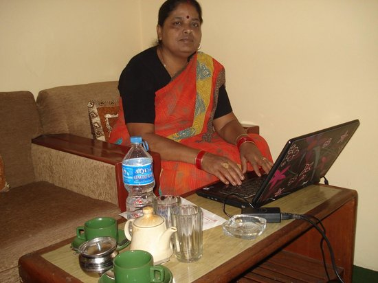 Kathmandu Madhuban Guest House:                                     WI-FI system is available with mng b/f.