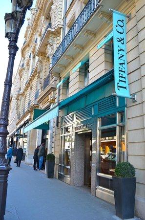 Park Hyatt Paris - Vendome:                   Across the street