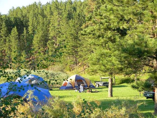Crooked Creek Resort and RV Park: Tenting