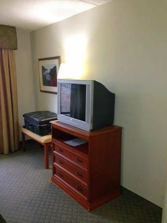 La Quinta Inn & Suites Sevierville / Kodak: tv / luggage stand
