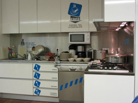 Yes! Hostel Porto:                                     Kitchen