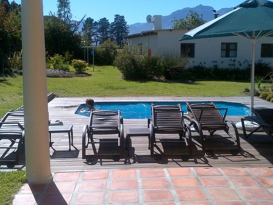 Lovane Boutique Wine Estate and Guest House:                   pool is well positioned and adequate