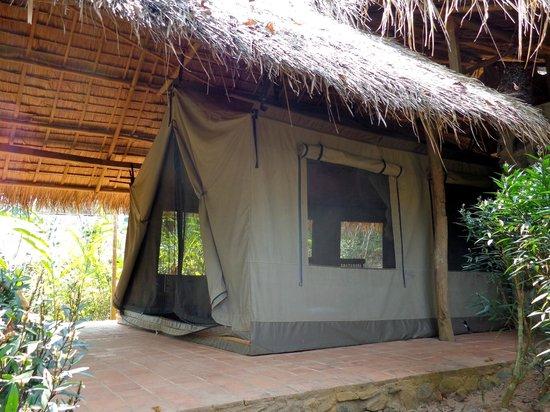 Kamu Lodge: tente-chambre