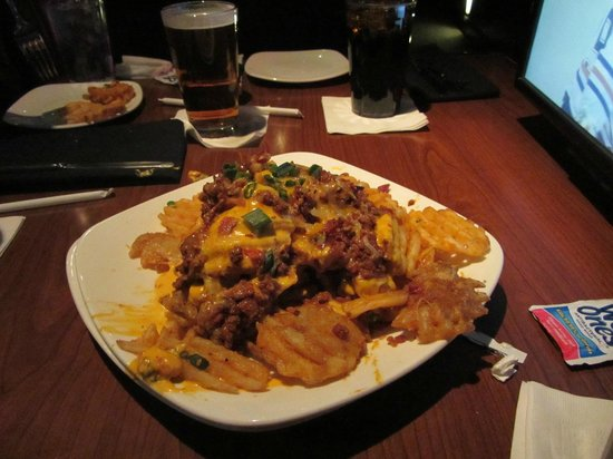 The Sporting House :                   Best cheese fries ever!