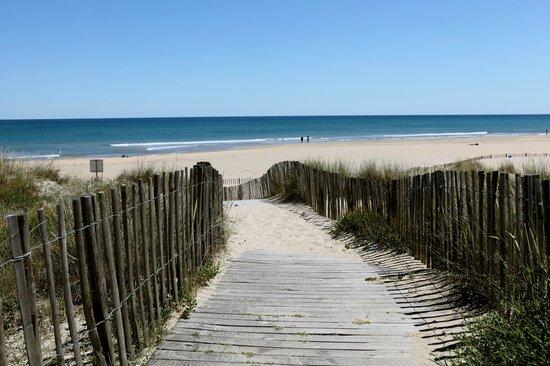 Hotel Le Richmont:                   Les dunes, la plage, la mer...