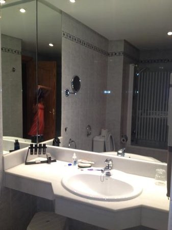 Melia Costa del Sol:                                     bathroom very clean