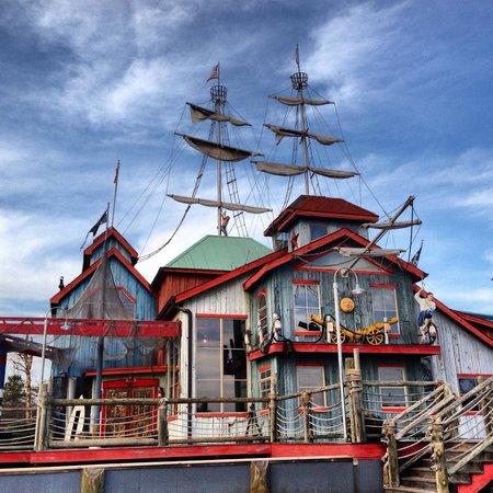 Pirate's Landing Seafood & Steak Restaurant:                   Exterior
