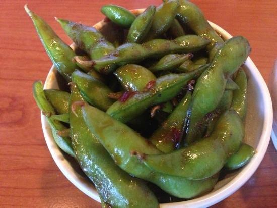 A-Tan:                                     spicy edamame