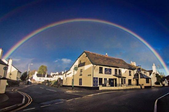 The Bell Inn: rainbow shot