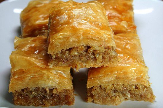 The Athens Restaurant and Steakhouse: Homemade Greek Sweets