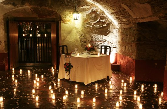 Cena romantica picture of restaurante casa santo domingo - Ideas cena romantica en casa ...