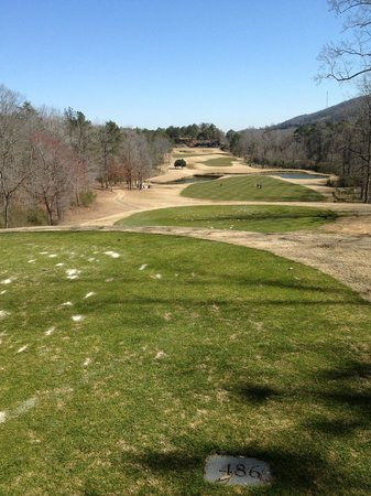 Oxmoor Valley Golf Course:                   The signature hole at The Ridge Course at Oxmoor Valley, #3