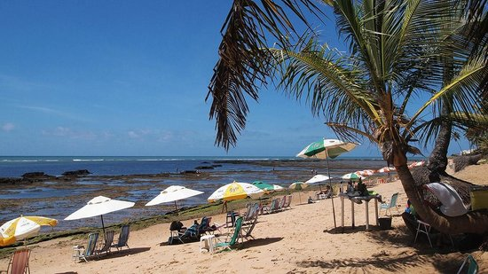 Hotel Via dos Corais:                                     Srand von Praia do Forte