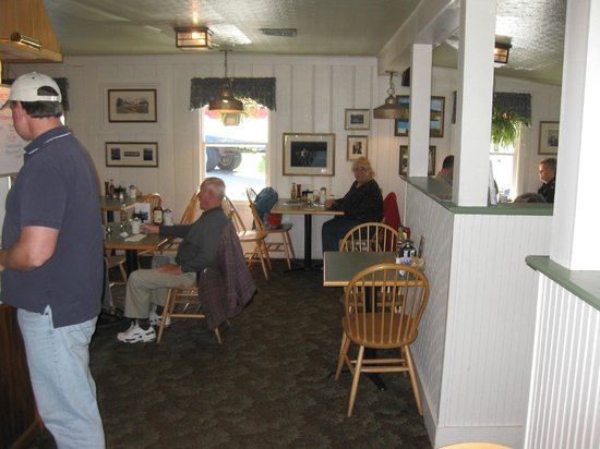 Dining area, The Freeport Cafe, Freeport, ME - Picture of Freeport Cafe -  Tripadvisor