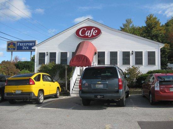 The Freeport Cafe, Freeport, ME