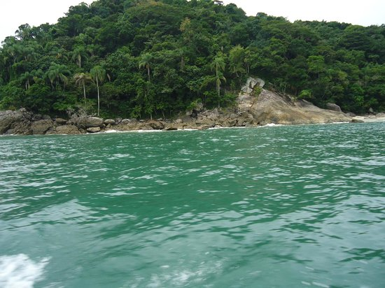 Boicucanga Beach:                   llegando a las ilhas boicucanga