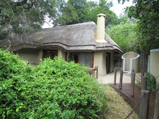 Jock Safari Lodge:                                     The accomodation fom within itsown grounds