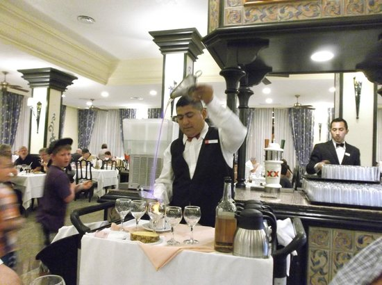 ClubHotel Riu Jalisco: buffet Flaming Spanish Coffe