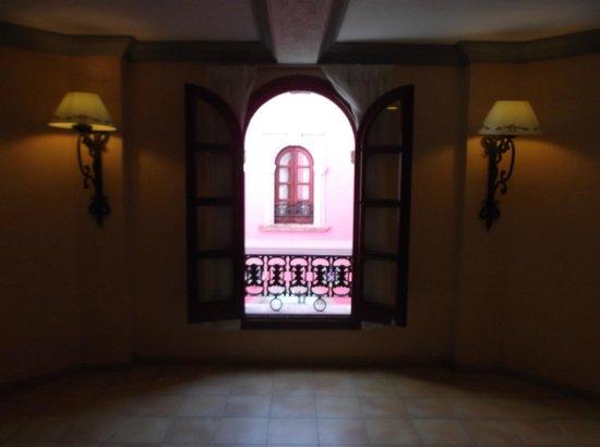 ClubHotel Riu Jalisco: 4 th floor window view