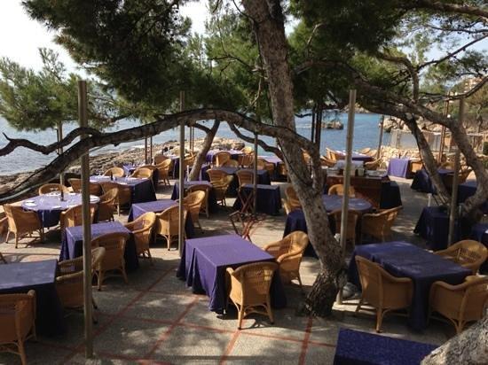 Bendinat Hotel:                   hotel terrace