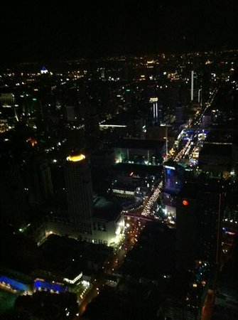 Baiyoke Sky Hotel:                   82nd floor